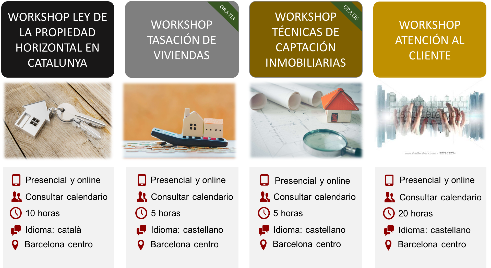 workshops inmobiliaria